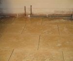056 Travertine Brick Floor